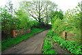 SO6323 : Remains of railway bridge, Weston under Penyard by John Winder
