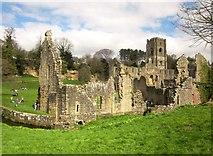 SE2768 : Fountains Abbey by Derek Harper