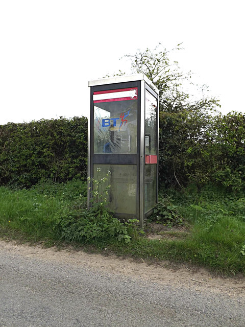 Sotterley Telephone Box on Lower Green