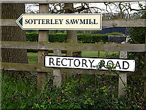 TM4584 : Rectory Road sign by Adrian Cable