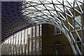 TQ3083 : Roof detail, Kings Cross Station by Julian P Guffogg