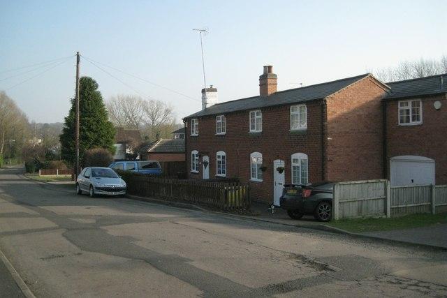 Older cottages, Walkwood Road, Walkwood, Redditch