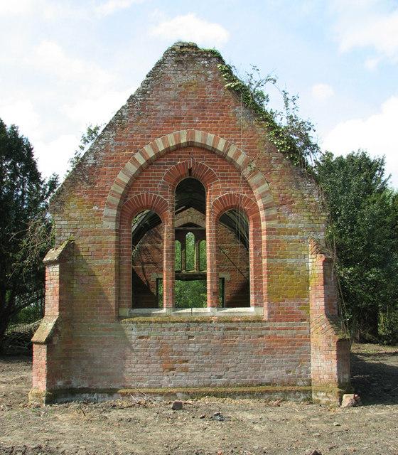Thursford Castle - the Walsingham Union workhouse chapel