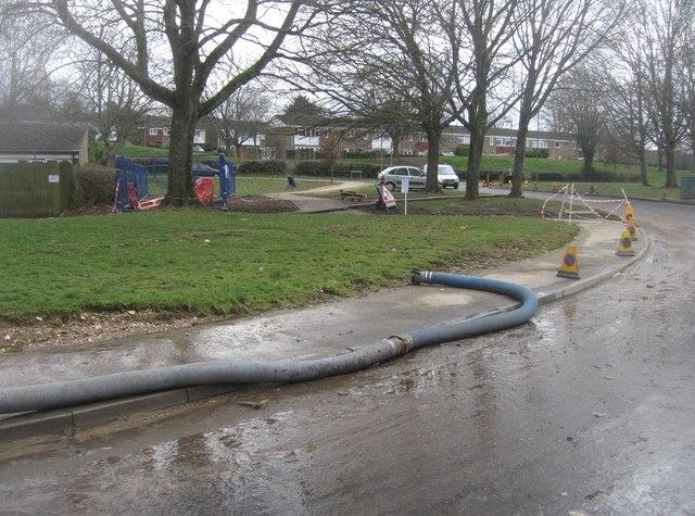 Grampian Way - post flooding