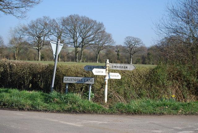 Signpost, Mundy Bois by N Chadwick