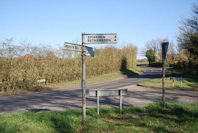 The Pinnock, Rose Farm Rd junction