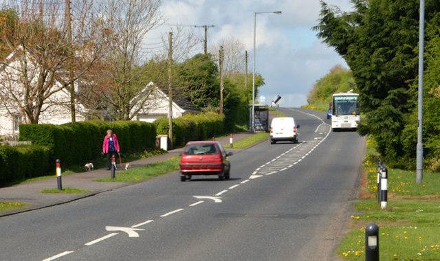 The Cullybackey Road, Ballymena (April 2014)