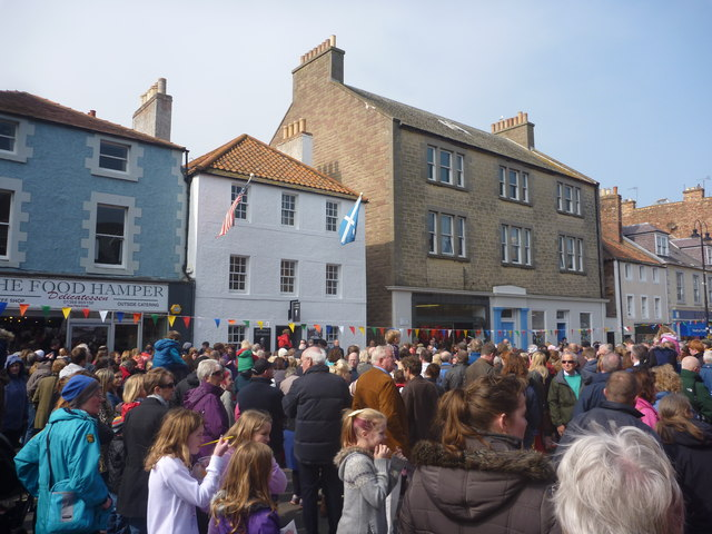 John Muir Festival Dunbar 2014 : Waiting For Speeches