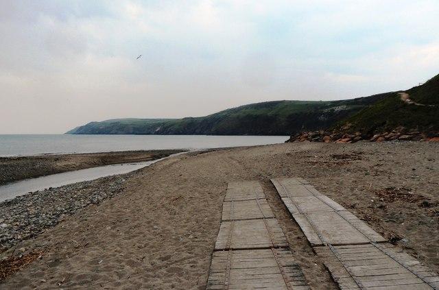 Aberdaron rear beach