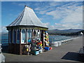 SH5873 : Bangor: gift shop on the pier by Chris Downer