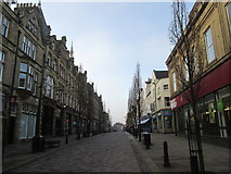 SE0925 : Early morning in Halifax town centre by John Slater
