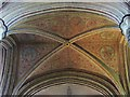 TA0339 : The Minster vaulted ceiling by Mike Kirby