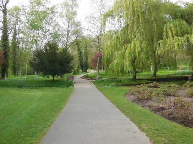 Path through Leeds Castle Grounds