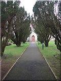 SZ0095 : Brief perambulation of St John, Broadstone (ii) by Basher Eyre