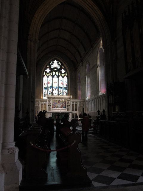 View towards the Sanctuary at Armagh's CoI Cathedral