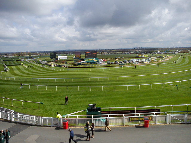 Aintree racecourse looking NE