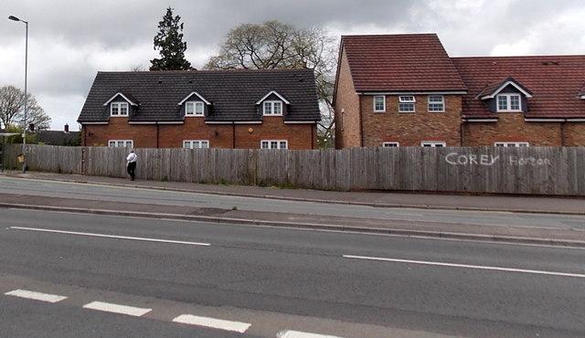 Houses in the SE corner of Westfield Gardens, Malpas, Newport