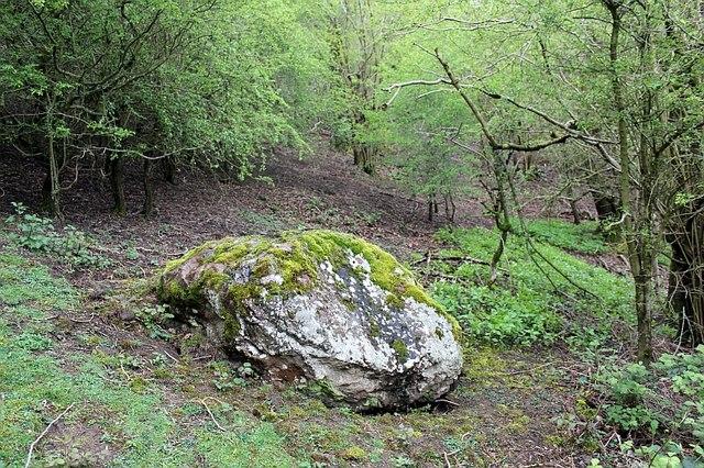 "The ""Sacrificial Stone"", The Malvern Hills"