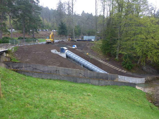 An Archimedean screw at Cragside