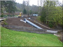 NU0702 : An Archimedean screw at Cragside by Russel Wills