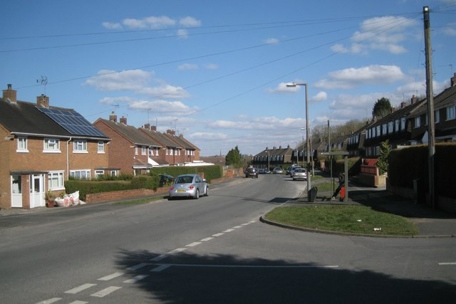 Bus stop, Foxlydiate Crescent, Batchley, Redditch