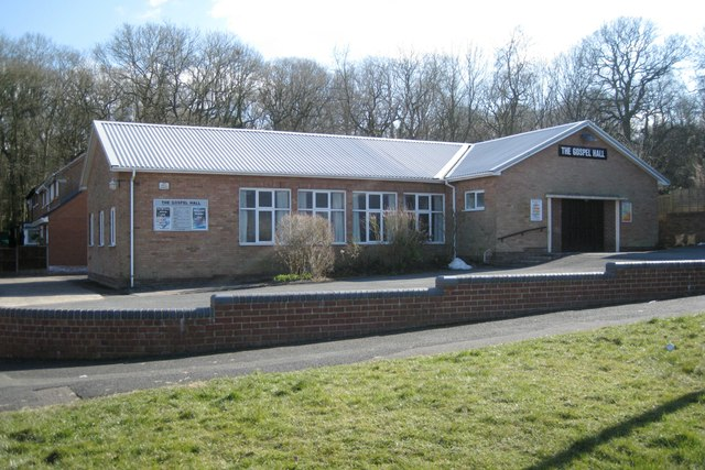 The Gospel Hall, Foxlydiate Crescent, Batchley, Redditch