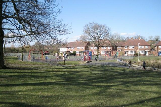 Playground near Batchley Pool, Batchley, Redditch