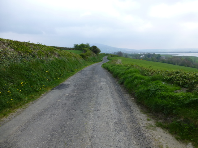 Road at Corcannon, Inch Island