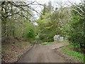 NY2234 : The road through High Bewaldeth by Christine Johnstone