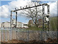 NS4871 : Railway at Singer Road by M J Richardson
