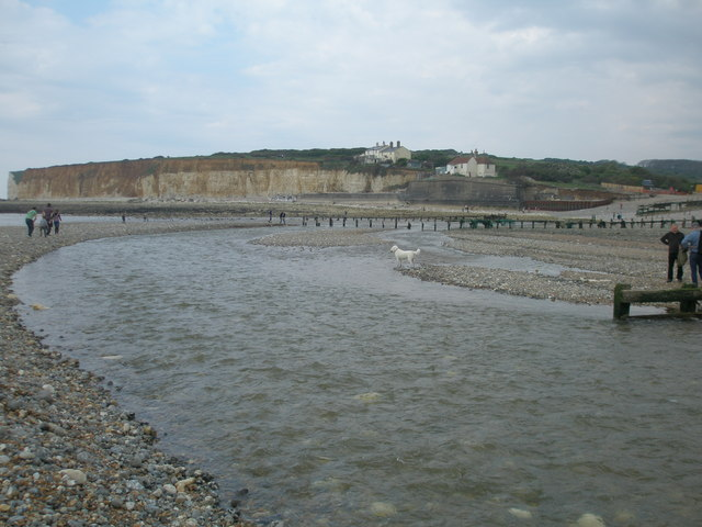 New mouth of the River Cuckmere