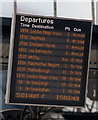 SE5951 : Confused departure board - York station by The Carlisle Kid