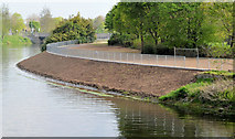 J3371 : Revetment works, River Lagan, Belfast - April 2014(3) by Albert Bridge