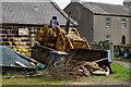 SE3834 : Bulldozer at Shippen House Farm by Ian S