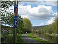 NS4870 : Forth and Clyde Canal Cycle Route by M J Richardson