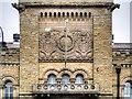 SD8010 : Lancashire Fusiliers' Crest, Bury Castle Armoury by David Dixon