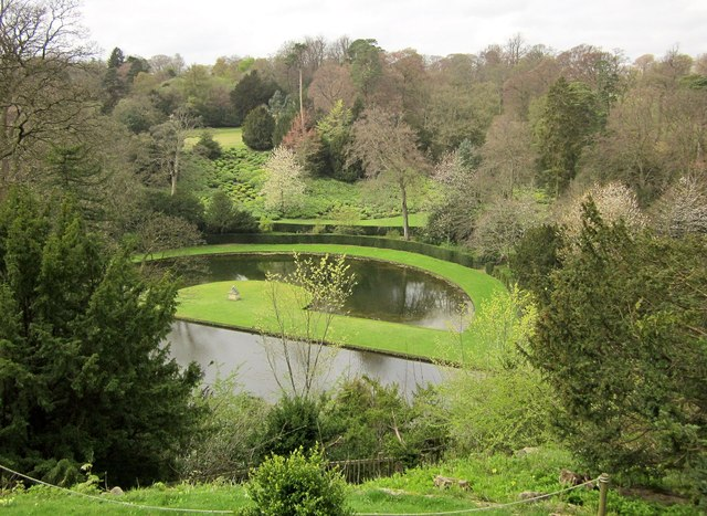 Half Moon Pond, Studley Royal Water Gardens