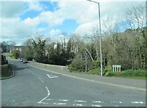 J1953 : Lower Quilty Road viewed from the B2 (Banbridge) Road by Eric Jones