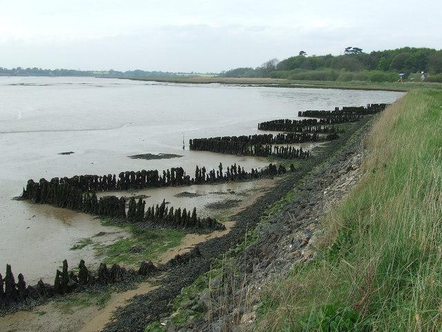 Old River Bank Defences
