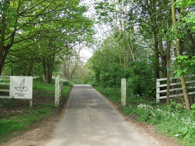 Entrance To Ramsholt Arms