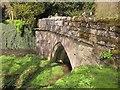 SE2768 : Bridge over the Skell, Fountains Abbey by Derek Harper