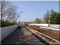 NO8686 : Stonehaven Station, south bound platform by Stanley Howe