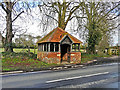 SU7282 : A remarkable bus shelter at Rotherfield Greys by Rose and Trev Clough