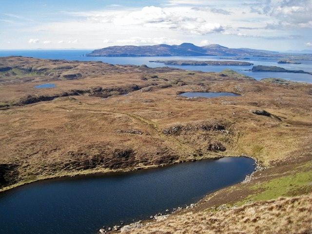 Loch Fada from Arnaval