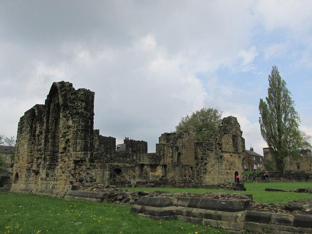 Monk Bretton priory.