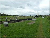 SP7257 : Lock 13, Grand Junction Canal - Northampton Arm by Mr Biz