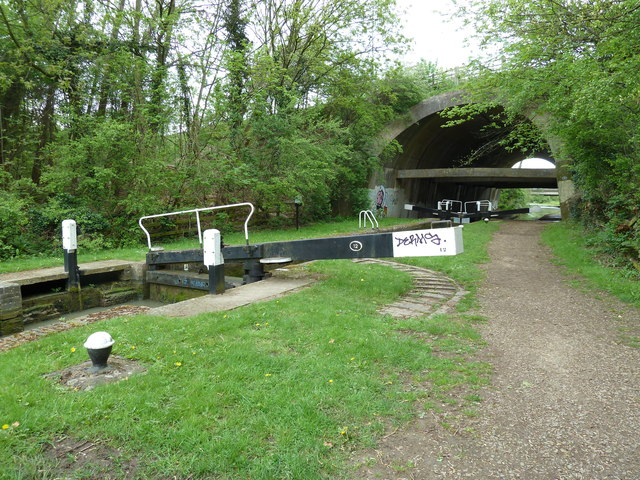 Lock 12, Grand Junction Canal - Northampton Arm