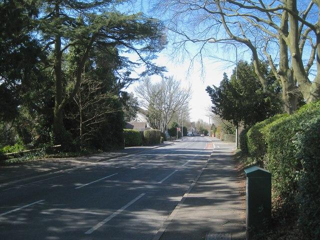 West on Birchfield Road, Webheath, Redditch