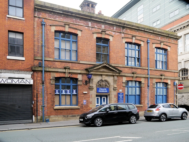 The Former Newton Street Police Station