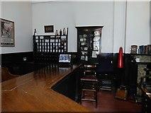 SJ8498 : Newton Street Police Station Charge Room by David Dixon